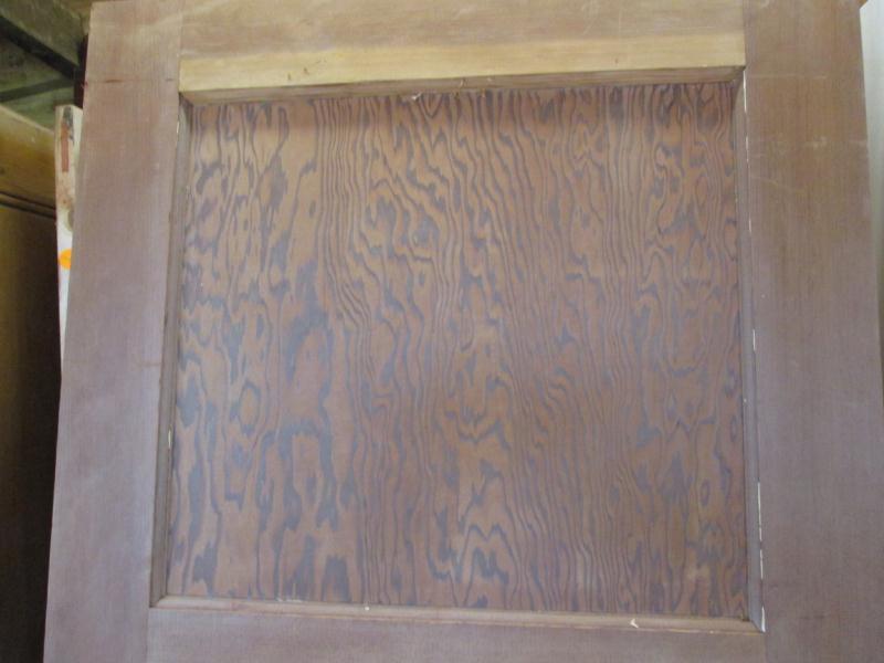 Reclaimed 1930 39 s 4 panel 1 over 3 pine door stripped for 1 over 3 panel door