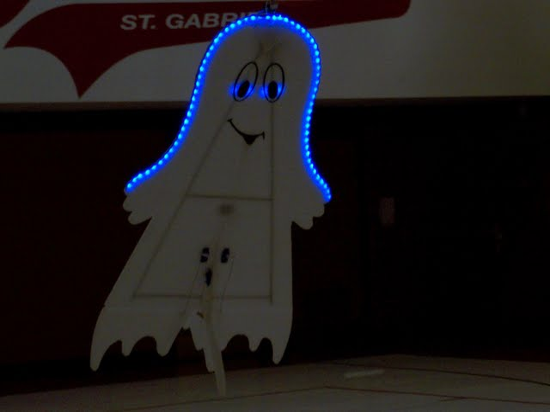 Flying Ghost Plane