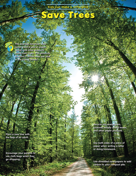 2 Words Essay on Save Trees for Green Earth