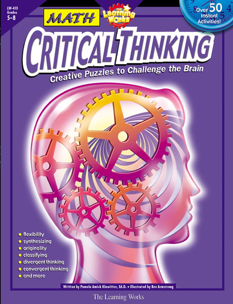 critical thinking puzzles with answers Sharpen your child's critical thinking and logical reasoning skills with our collection of giving kids puzzles and riddles to solve is a good way to challenge.