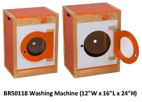 Wooden Kitchen Set Washer 12