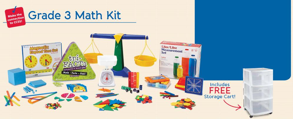 Grade 3 Math Kit