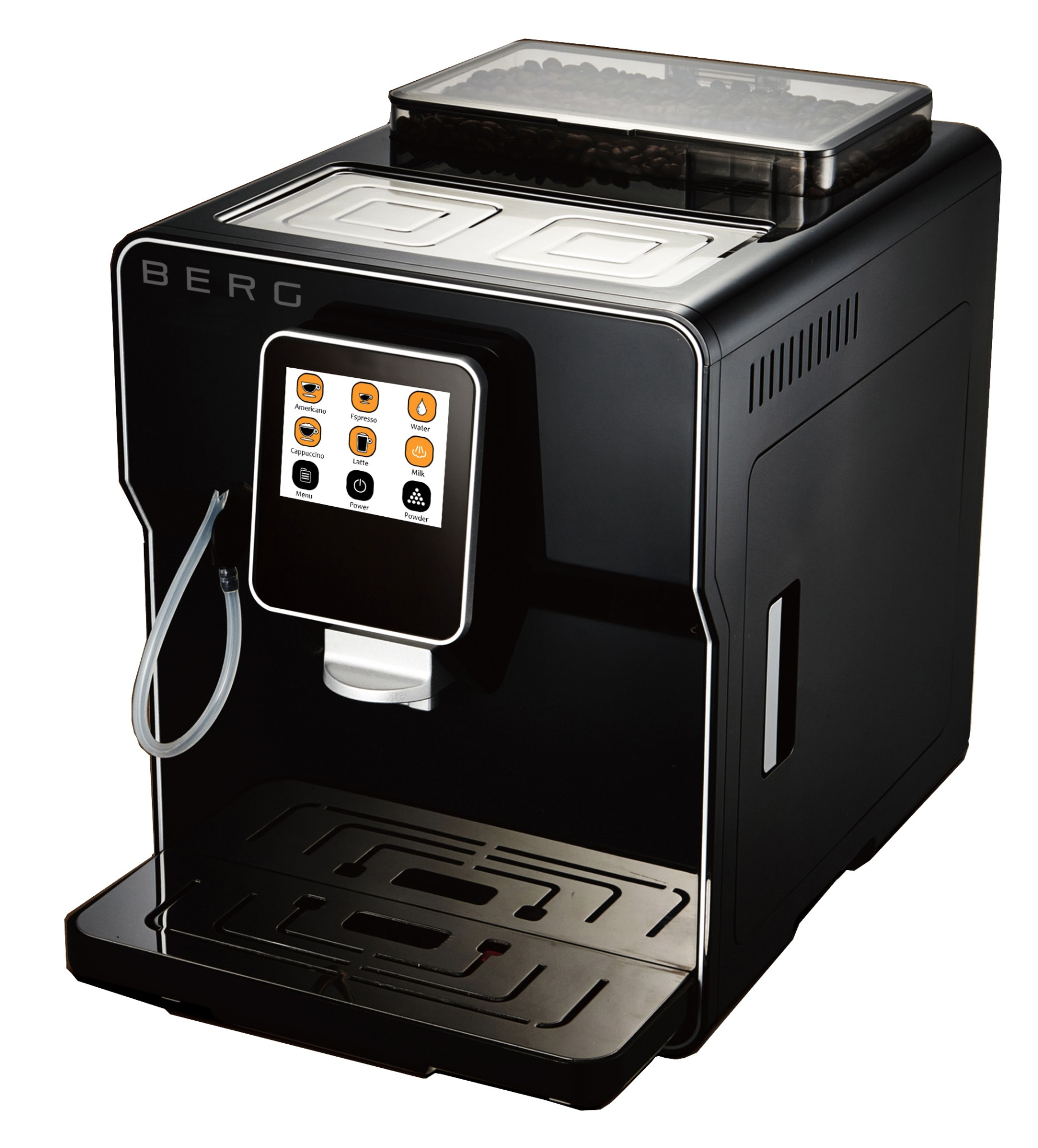 Bean to cup latte machines