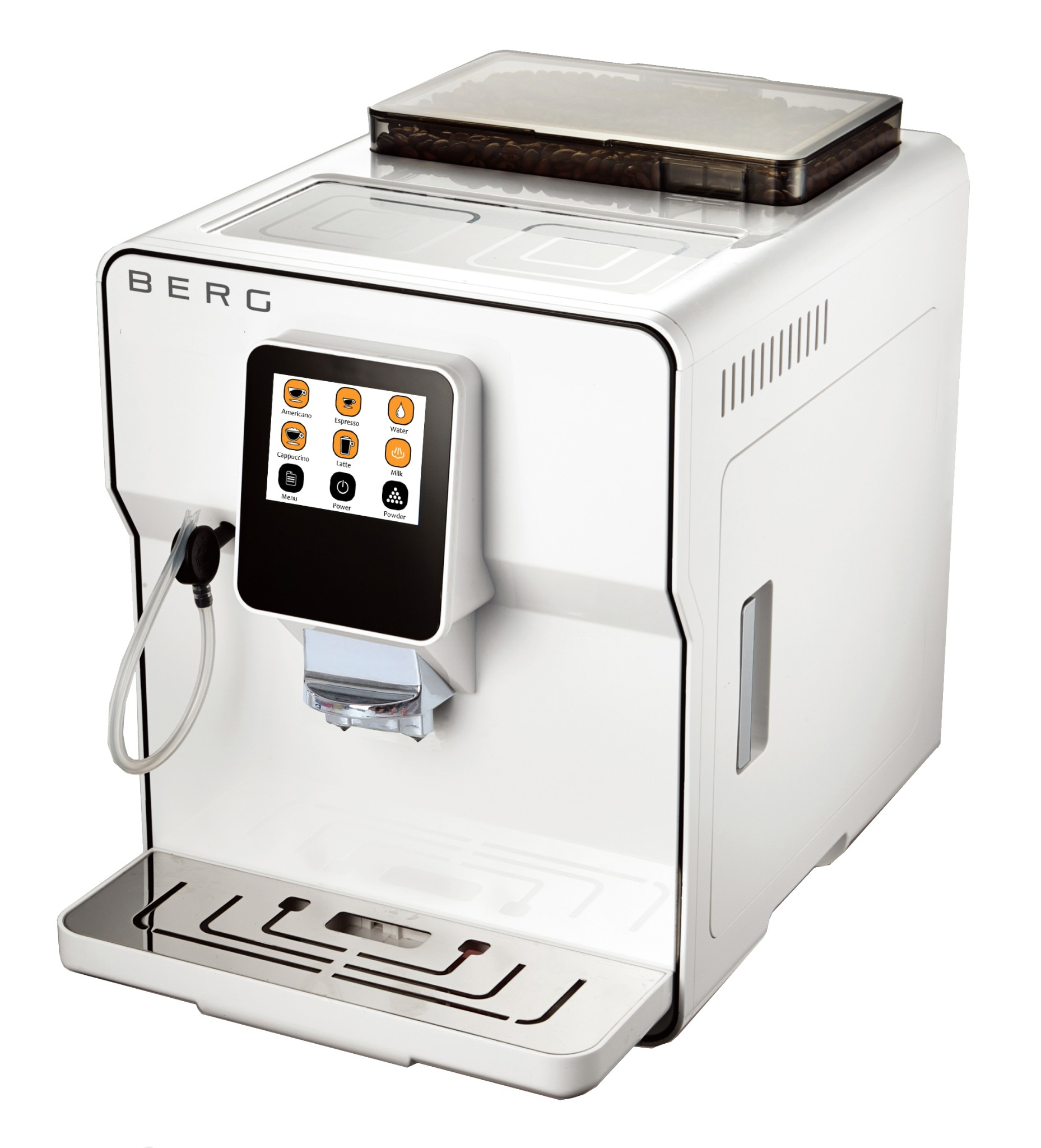 Mayer Automatic Bean To Cup Coffee Maker : BERG Toccare Uno - Automatic One Touch Bean to Cup Coffee Machine