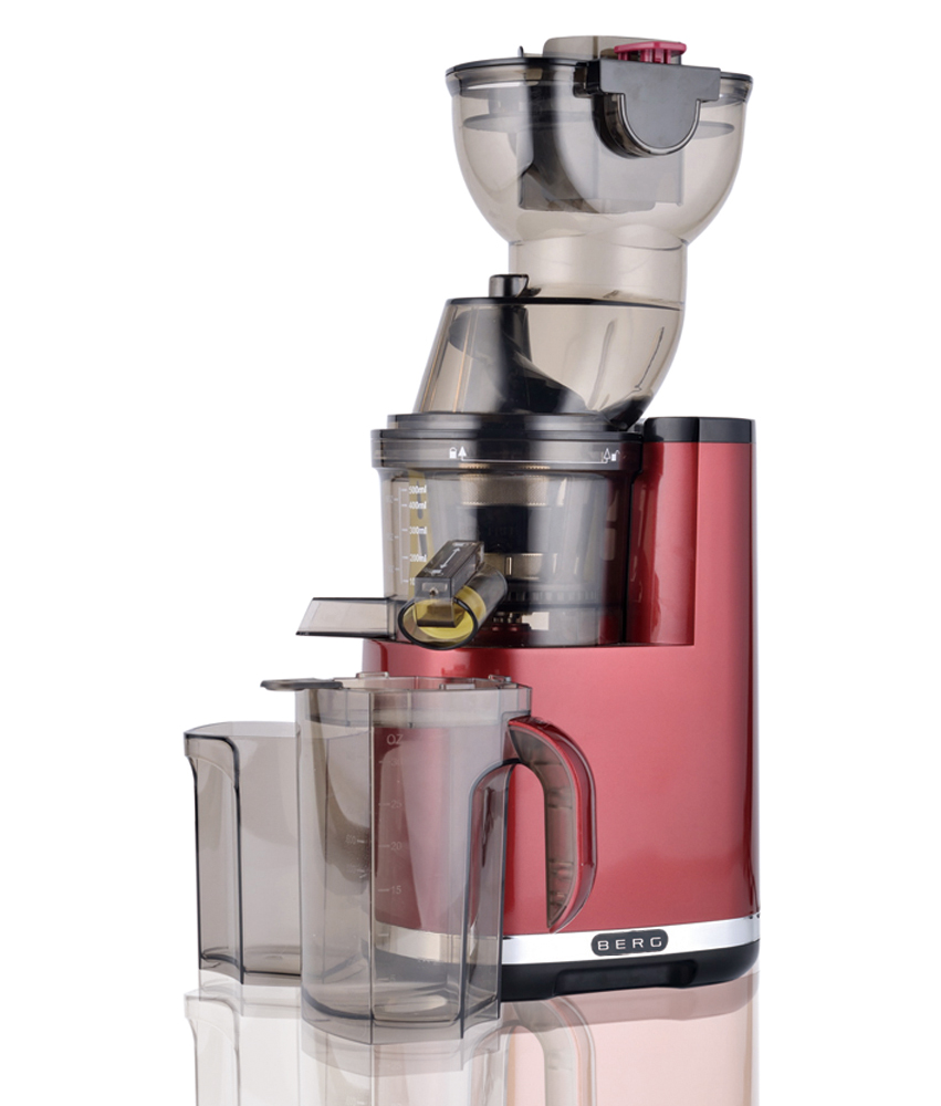 Professional Masticating Slow Juicer : BERG Slow Juicer