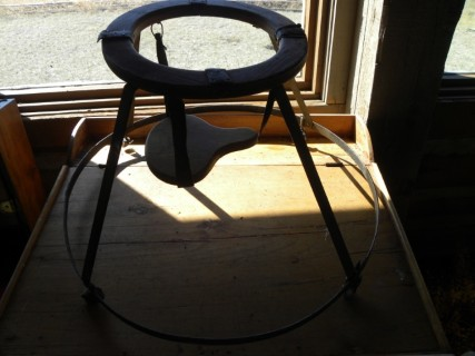 Antique Wooden Gendron Baby Bouncer Walker Made In Canada