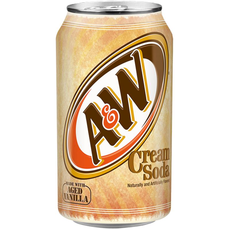 Can Cream Soda ~ A w cream soda can ml american