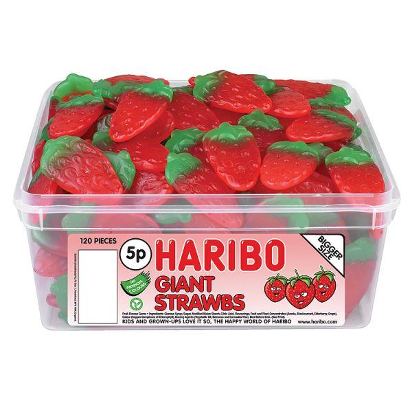 Haribo Giant Strawbs Sweets