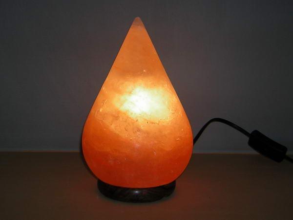 Salt Lamps Origin : Drop Shape Himalayan Salt Lamp