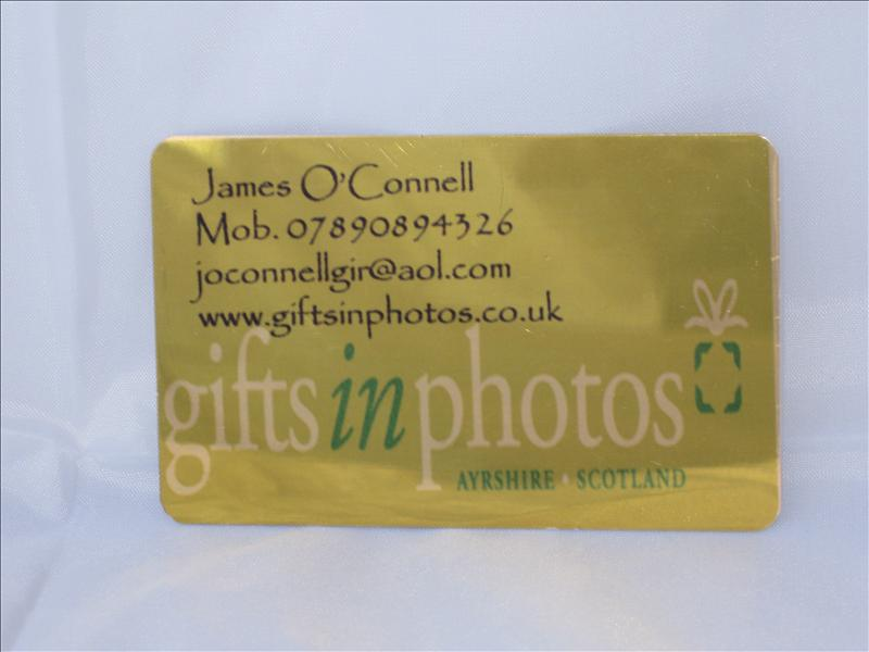 Aluminium business cards store business promotional products aluminium business cards reheart Gallery