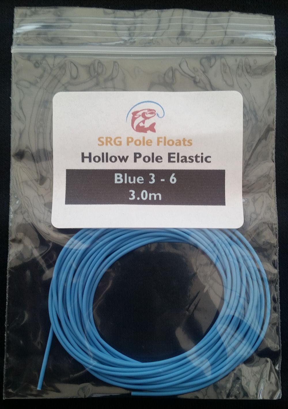 Highest Quality Hollow Pole Elastic Blue Size 3-6 , 1.3mm Diameter ...