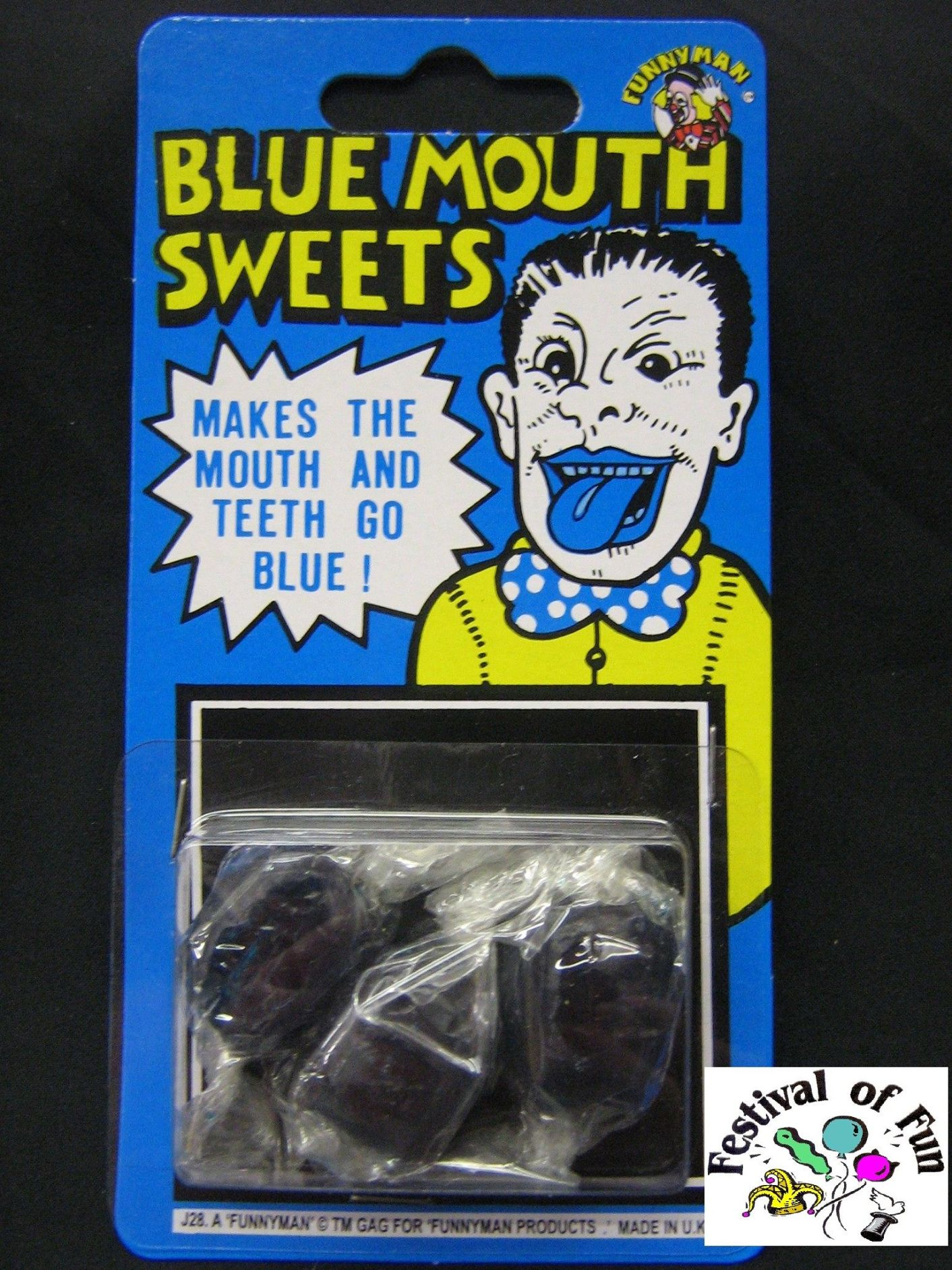 Joke Blue Mouth Sweets