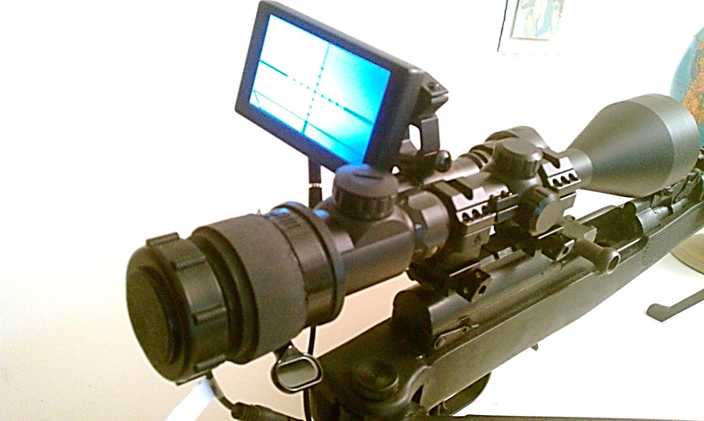 Digital Crosshairs 1000 night vision clip-o
