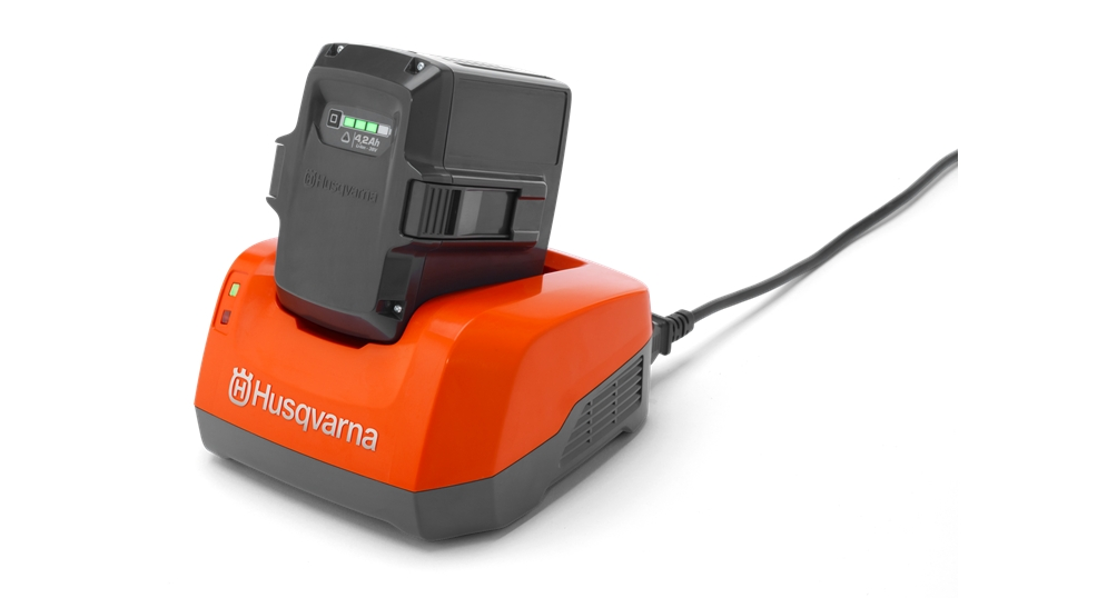 Honda Battery Warranty >> Husqvarna QC80 Battery Charger Cordless