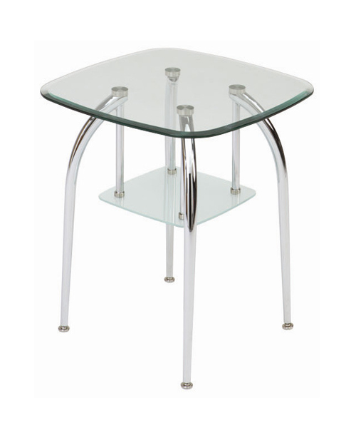 2 Tier Glass Coffee Table