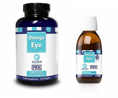 Omega eye for Prn fish oil