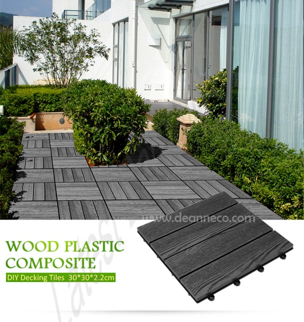 D.I.Y Composite Decking Tiles $12 per piece supplying from Singapore