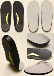 Insoles flat feet boots