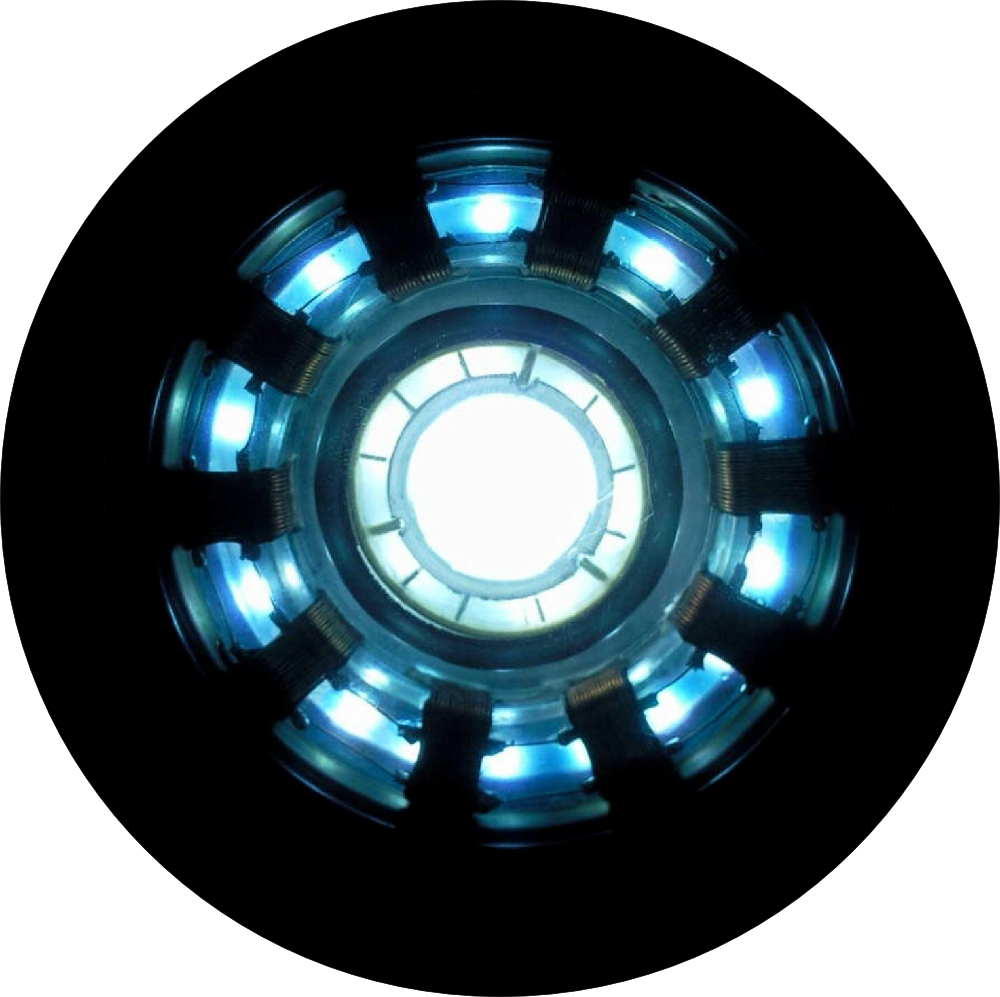 A To Z Tire >> Iron Man Arc Reactor Spare Tire Cover