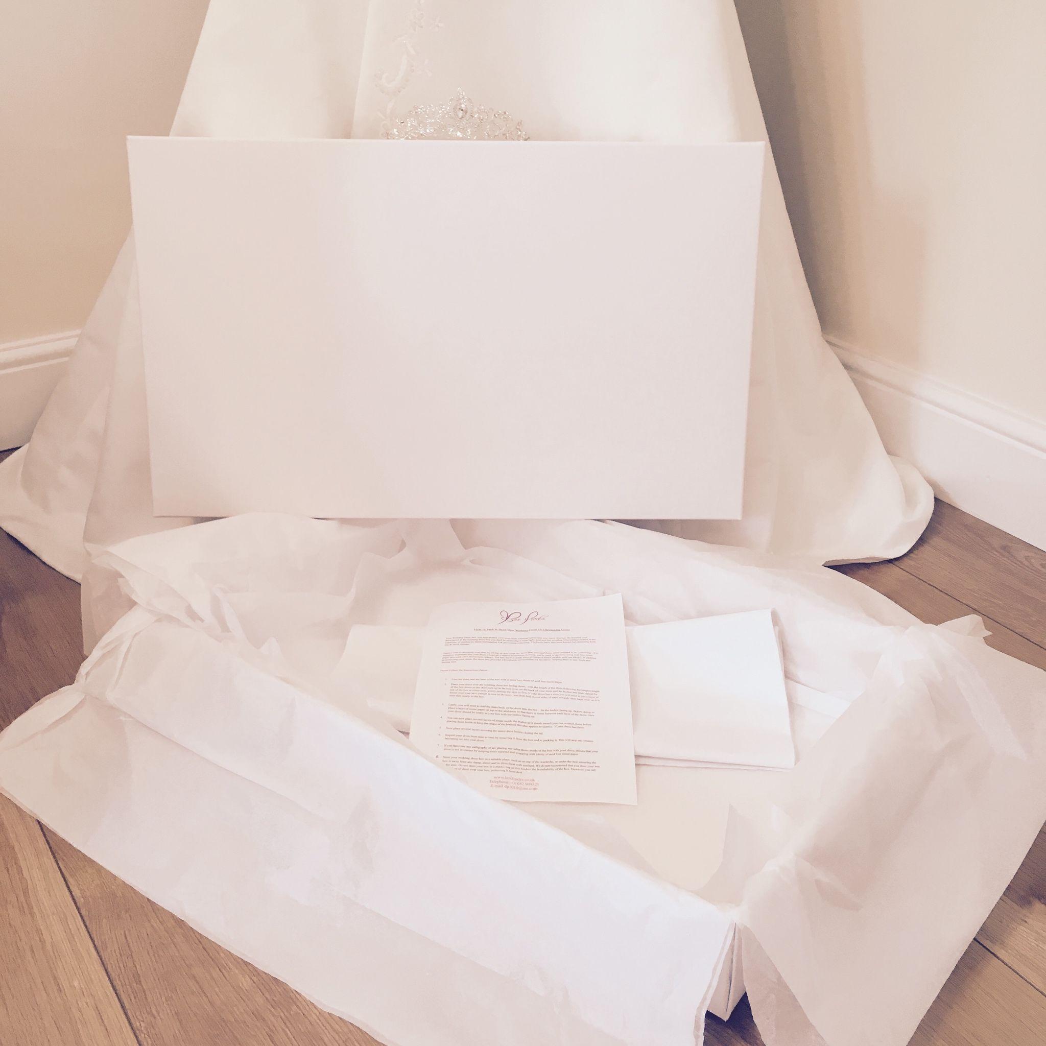 large wedding dress storage box white wedding dress storage box Large Wedding Dress Storage Box White