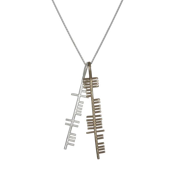 Silver and gold health and happiness by ogham treasure aloadofball Images