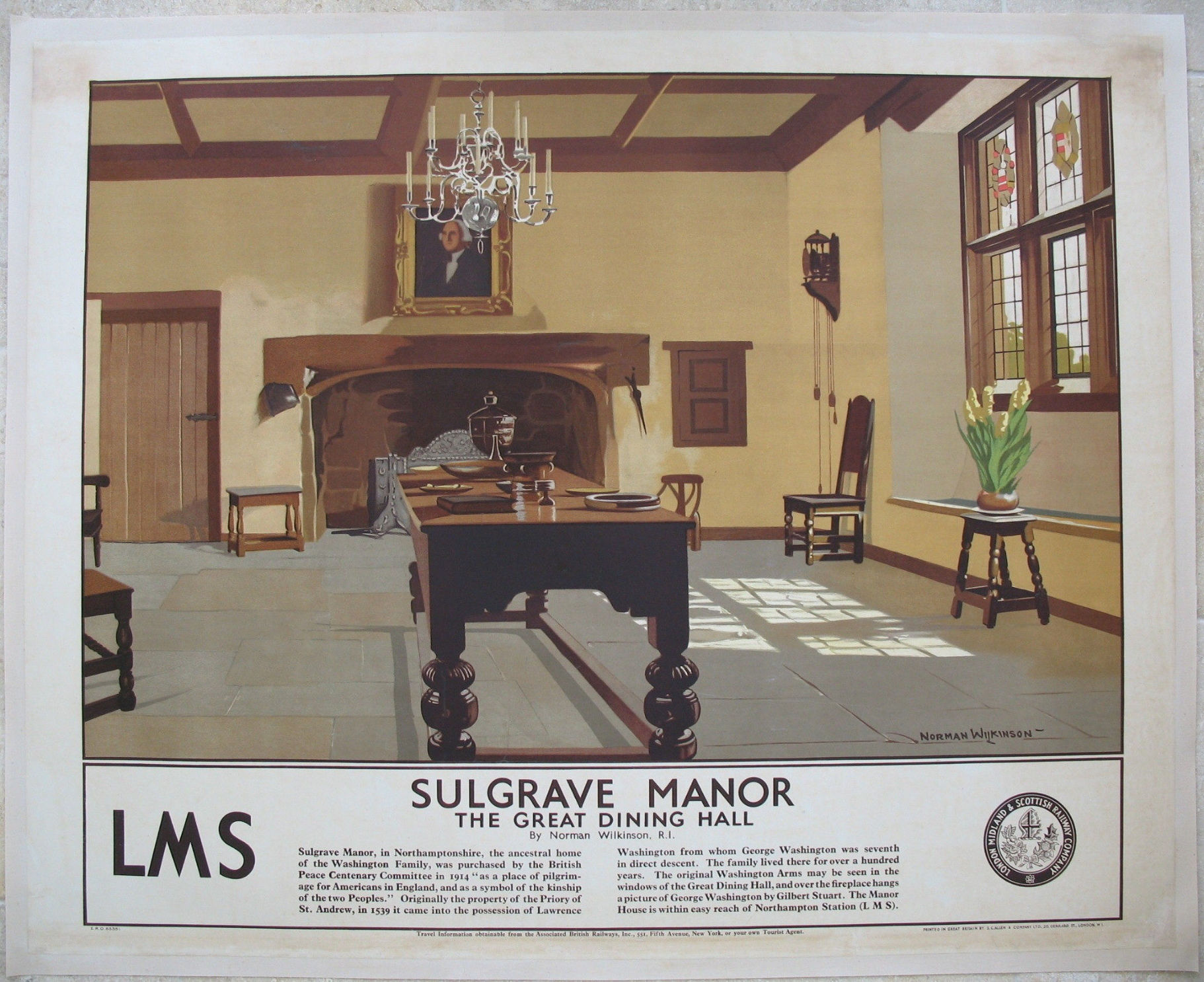 Sulgrave Manor   Wilkinson