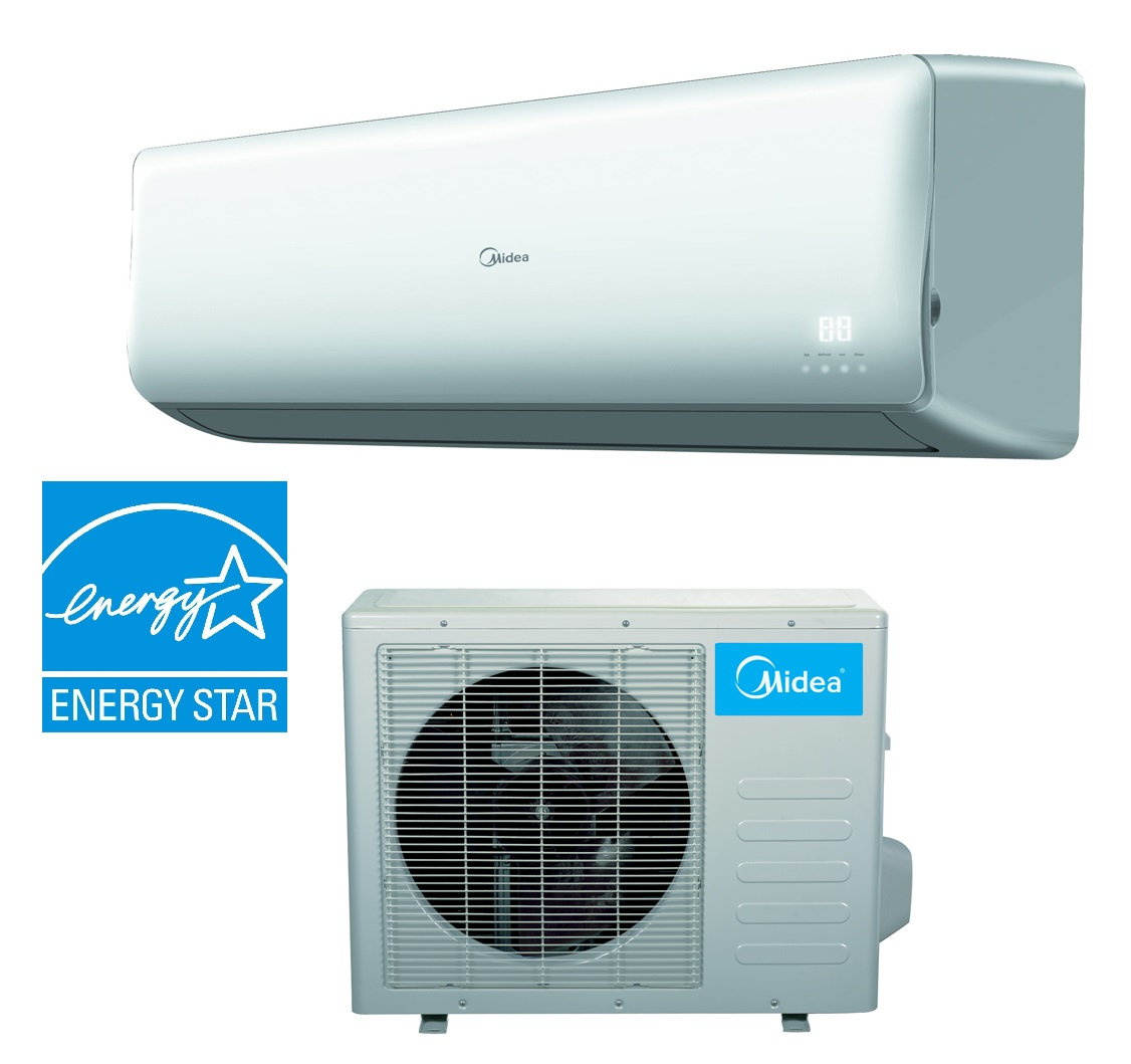 Midea 24000 Btu 19 Seer Super Inverter Ac Ductless Mini