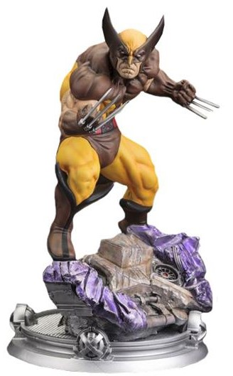 Marvel Comics Danger Room Sessions Wolverine Brown