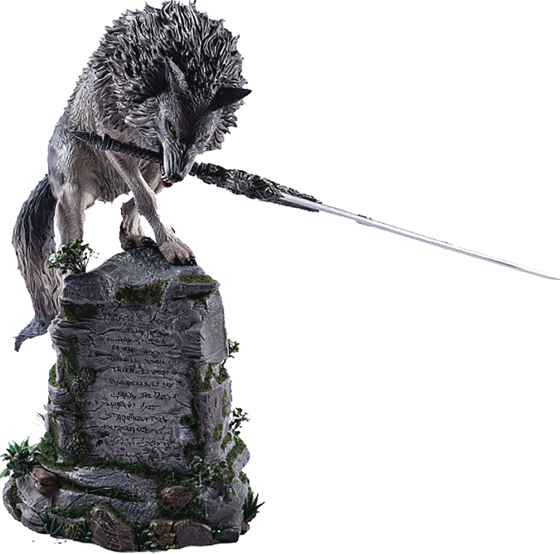 Sif The Great Grey Wolf Dark Souls Statue First 4 Figures