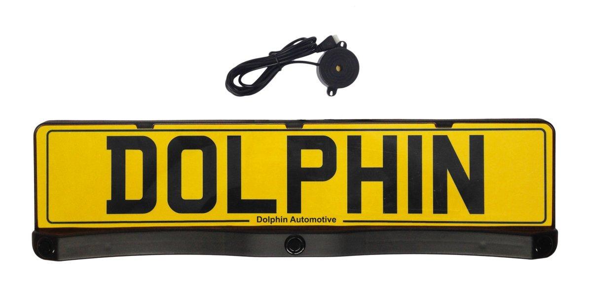 Number Plate Mounted Reverse Parking Sensors