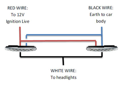 strip daytime running lights drl relay wiring diagram drl relay wiring diagram