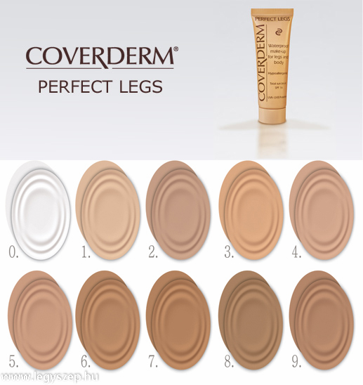 Coverderm Perfect Legs 50ml