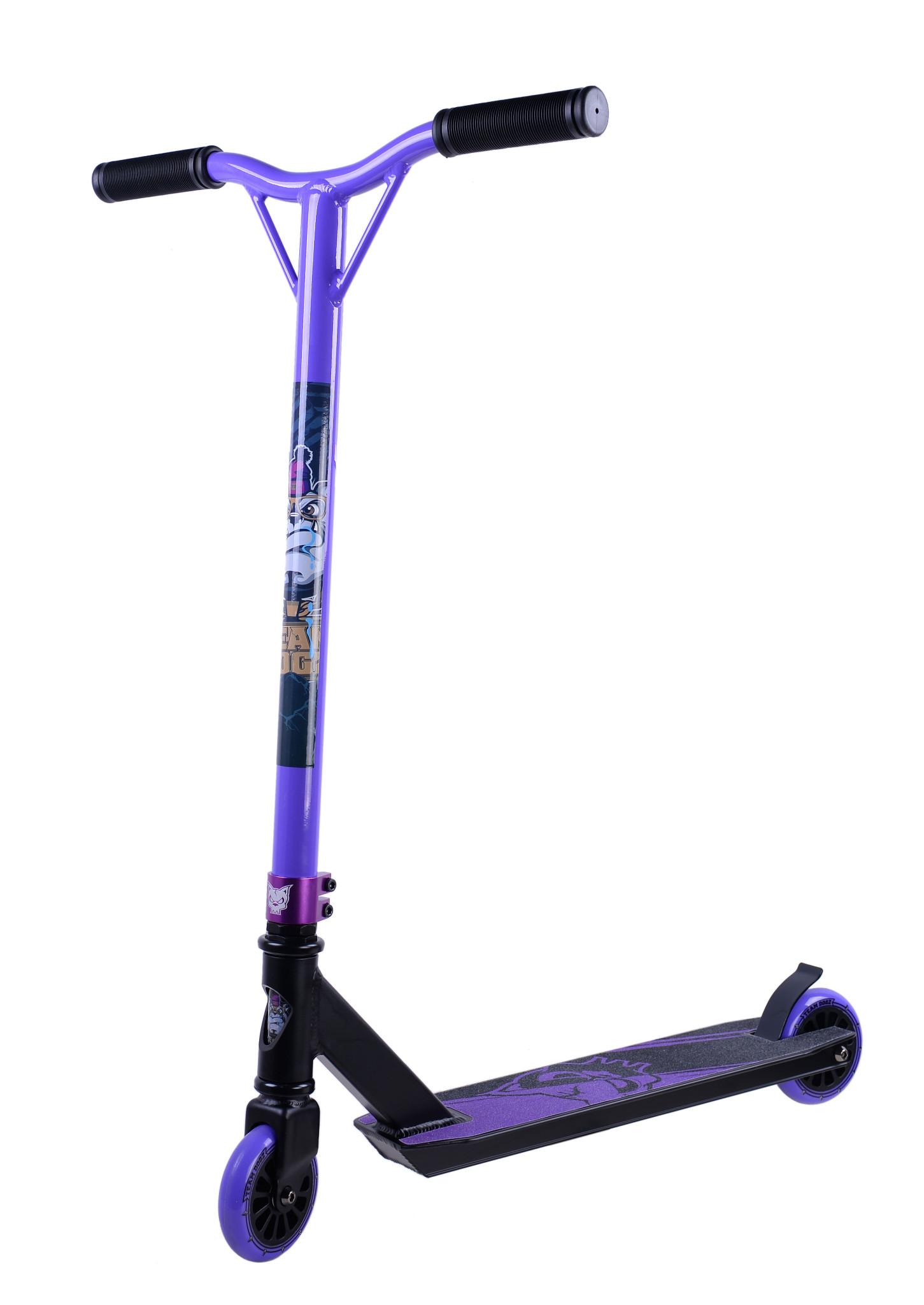 neu x gen team dogz pro 3 stunt scooter 360 kinder skate. Black Bedroom Furniture Sets. Home Design Ideas