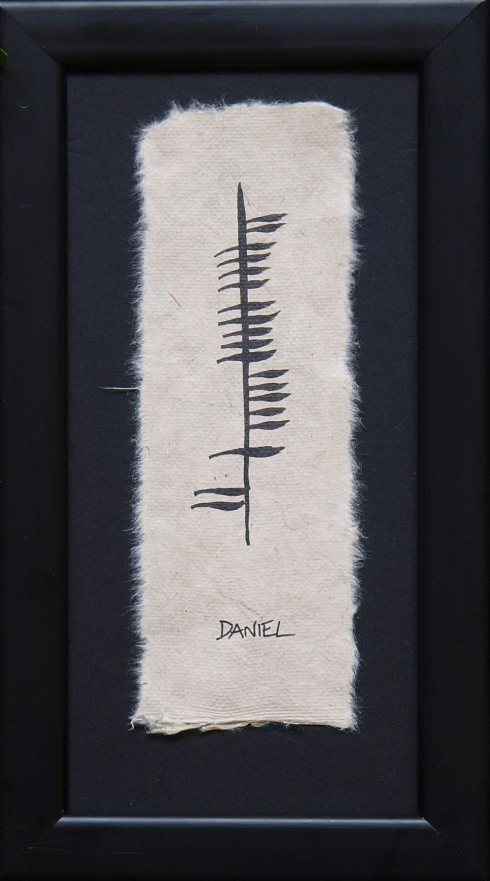 How to write in ogham