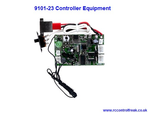 double horse 9101 23 pcb controller equipment 27mhz