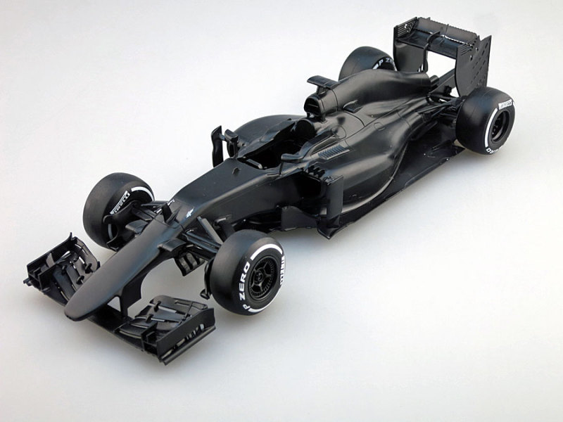 Ebbro 1/20 McLAREN HONDA MP4-30 2015 Middle Season 20014