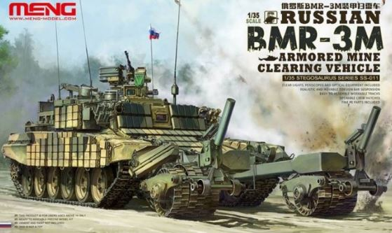 meng 1 35 russian bmr 3m armoured mine cleaning vehicle ss 011