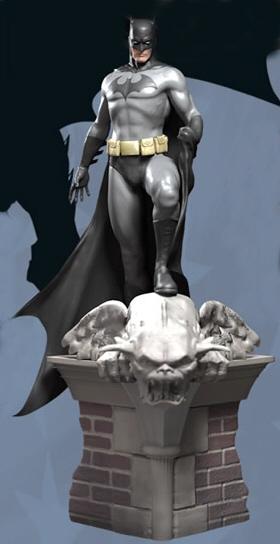 Batman on Rooftop Subscriber Mega Special Statue
