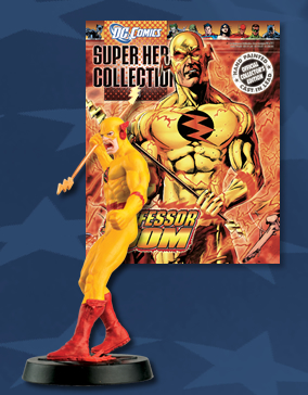 professor zoom figurine magazine dc superhero collection 84