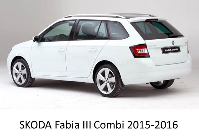 skoda fabia iii combi 2015 2017 magnetic car sun shades 2 pack. Black Bedroom Furniture Sets. Home Design Ideas