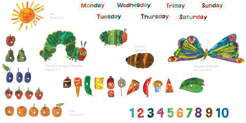 Lovely The Very Hungry Caterpillar Room Décor Kit Part 16