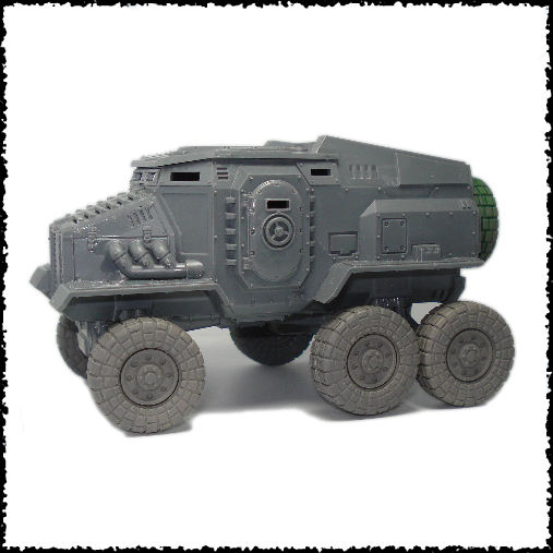 6x6 wheel conversion kit compatible with GW taurox