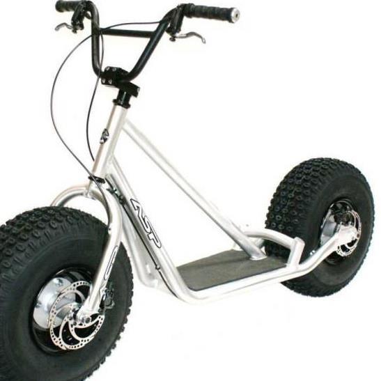 sykkel med store dekk