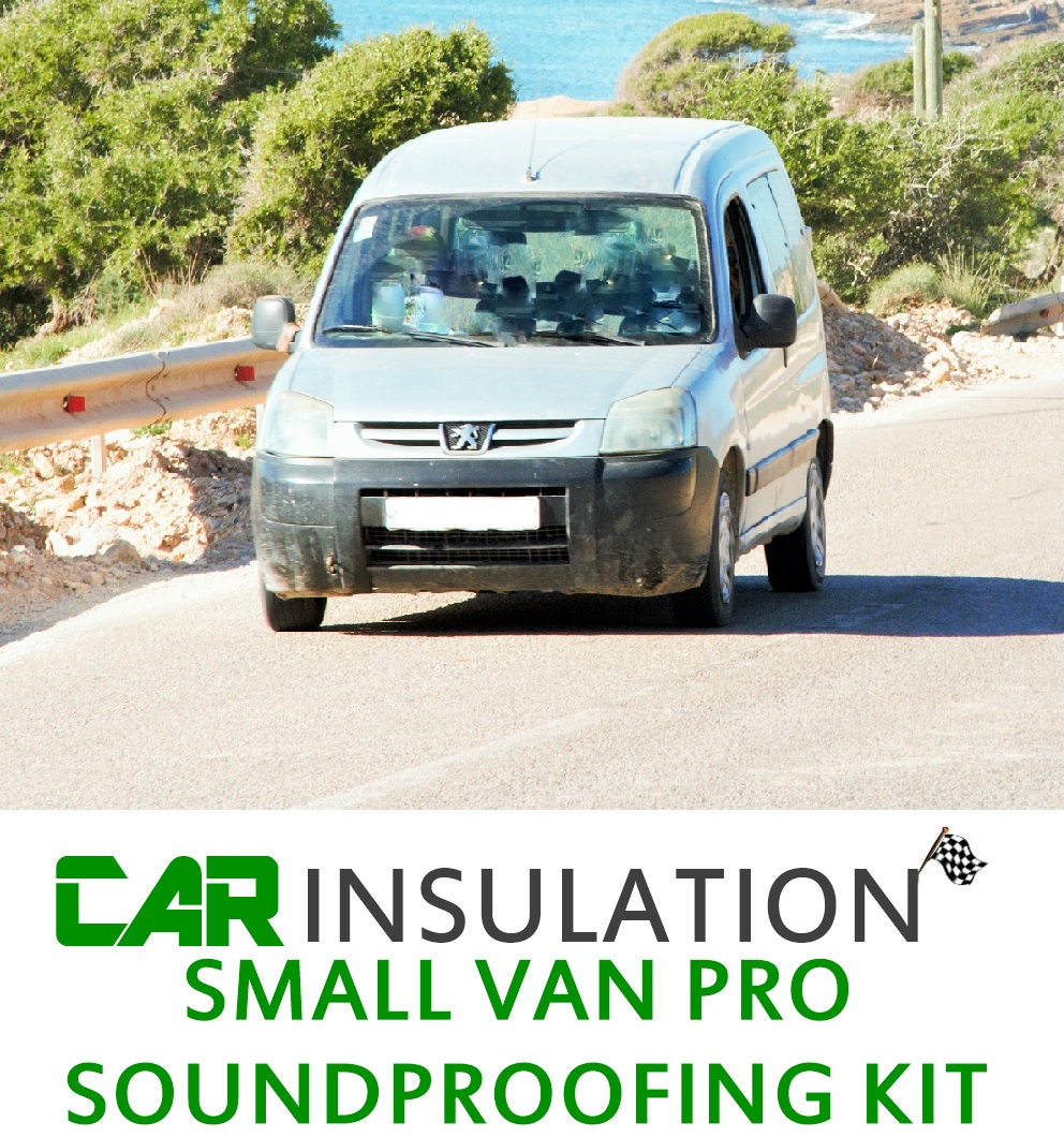 Car Soundproofing Kits : Small van soundproofing kit