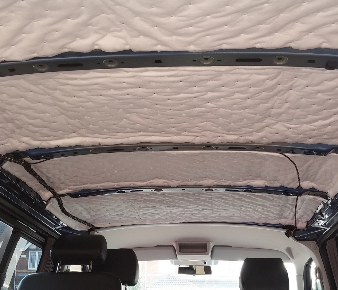 Car Soundproofing Kits : Self adhesive camper van insulation kit heat sound