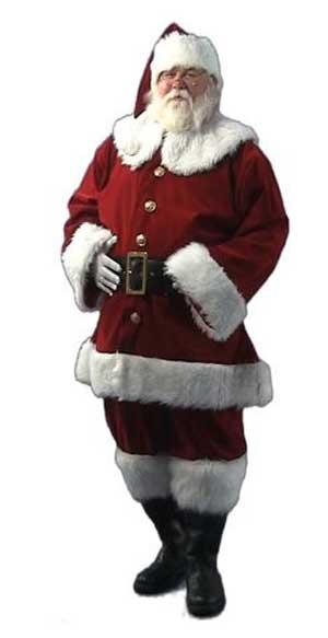 Nostalgic Santa Suit