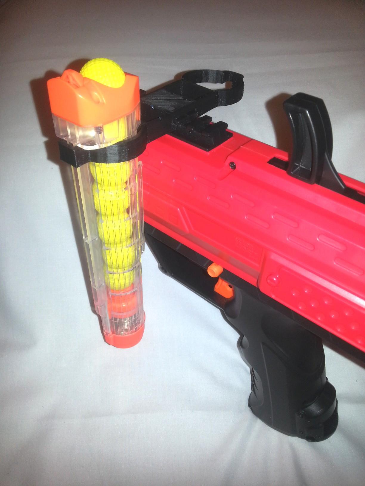 Nerf Magazine Holder RIVAL DOUBLE SPARE MAGAZINE HOLDER TACTICAL RAIL custom ACCESSORY MOD 22