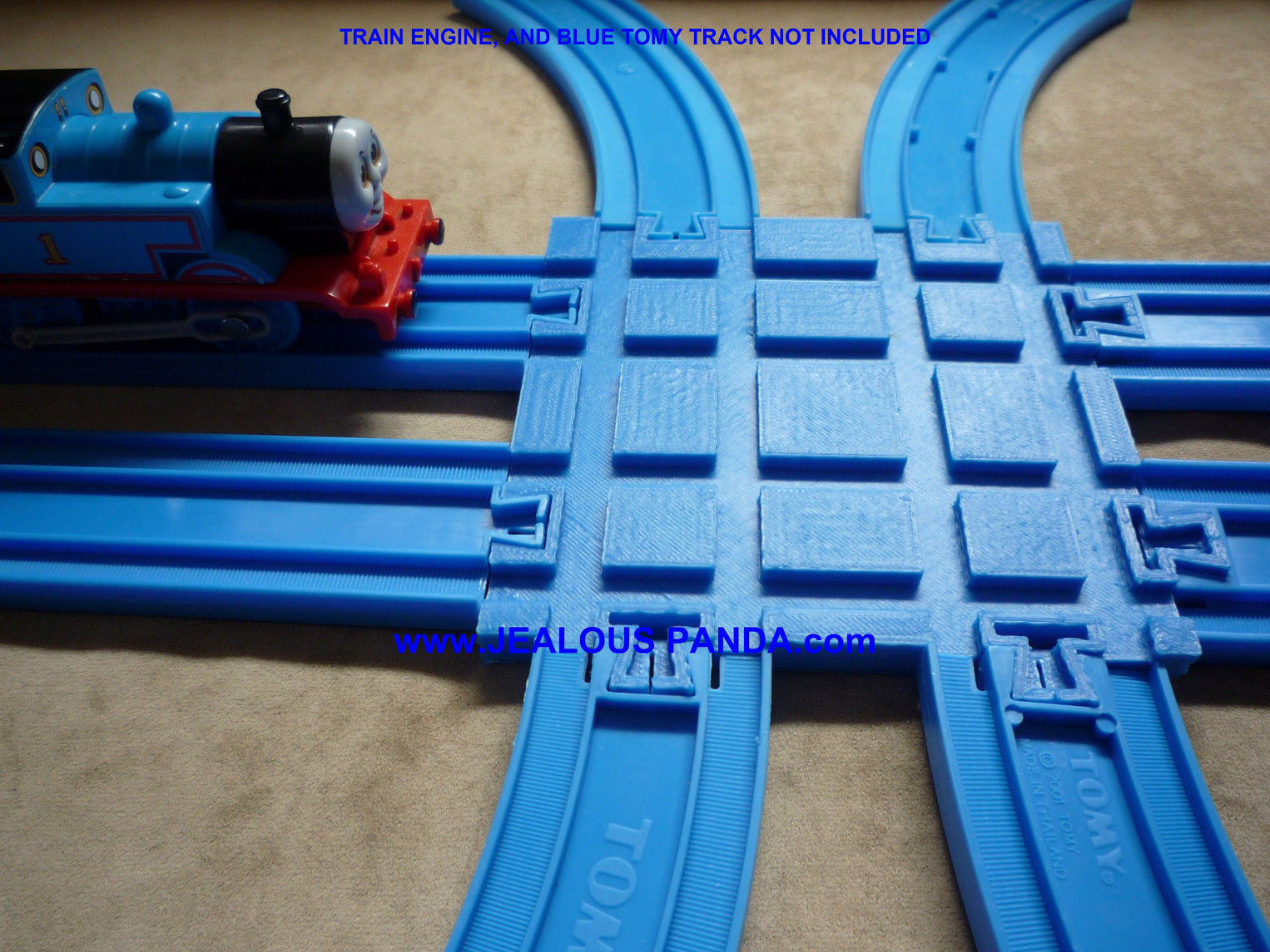 tomy thomas track instructions