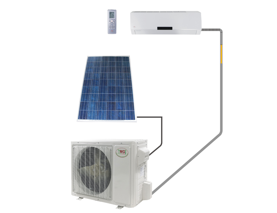 12000 BTU Up To 32 Seer DC Inverter Solar 220v Mini Split Heat Pump PV  #34496C
