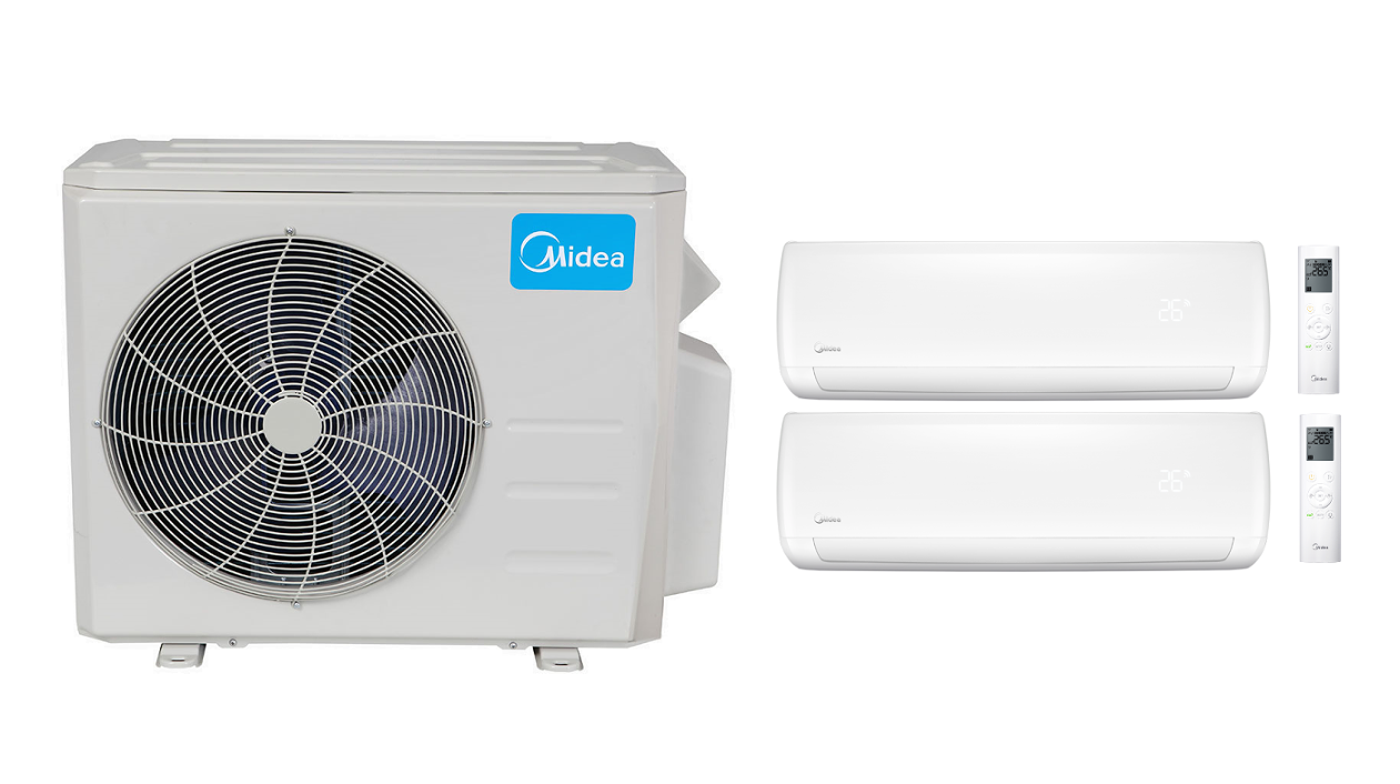 #0290C9 Midea 18 000 Btu 16 Seer Multi Zone Mini Split Heat Pump  Most Effective 9895 18000 Btu Portable Air Conditioner pictures with 1828x1024 px on helpvideos.info - Air Conditioners, Air Coolers and more